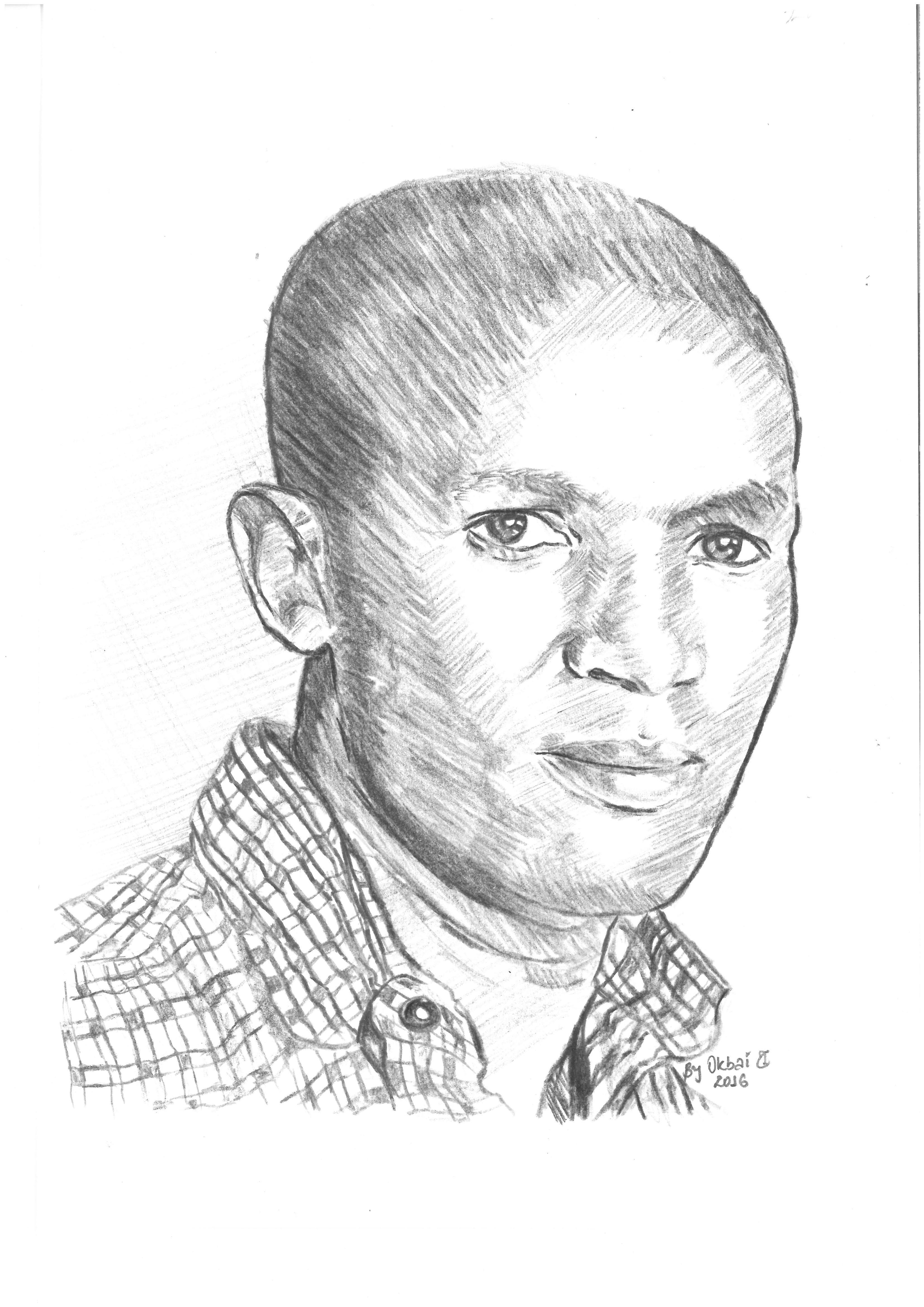 Eind Bild zeigt das Porträt von Kassahun Geremeskel