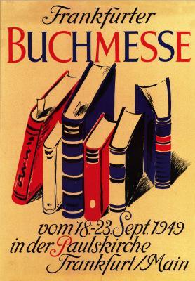 Plakat der Frankfurter Buchmesse von 1949