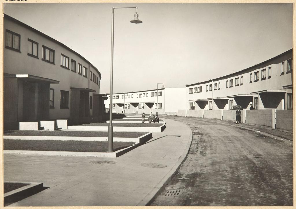 Ansicht der Römerstadt um 1930 © HMF Paul Wolff, 1930