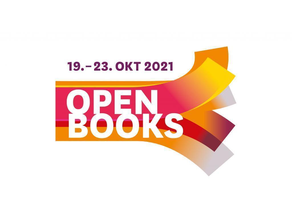 Logo des Lesefests OPEN BOOKS zur Frankfurter Buchmesse