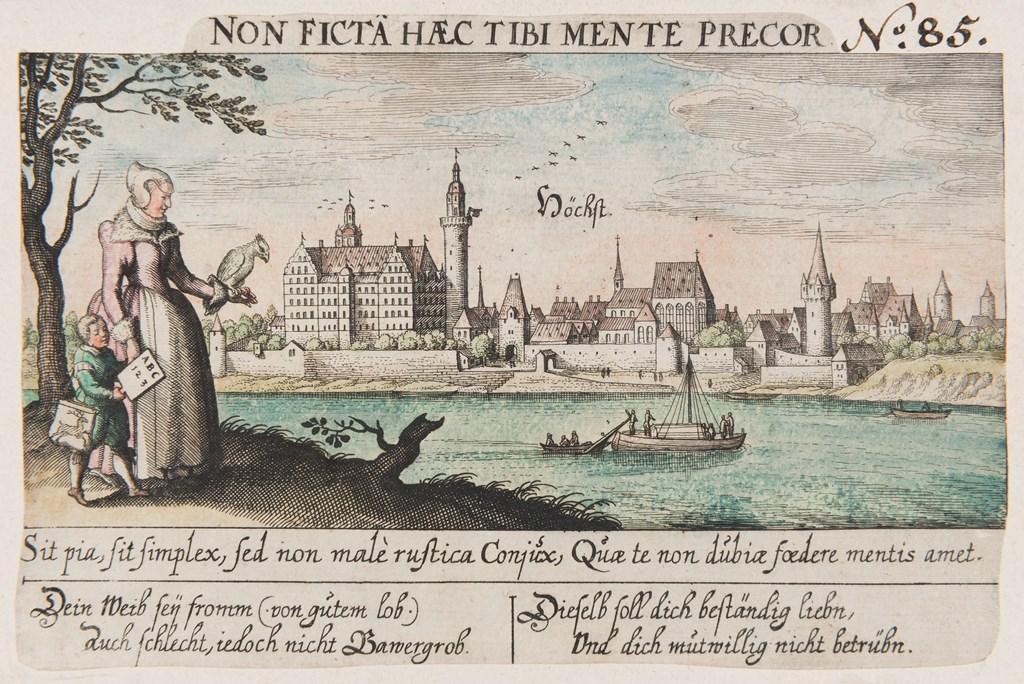 Höchst am Main, 17. Jahrhundert (c) HMF: Horst Ziegenfusz