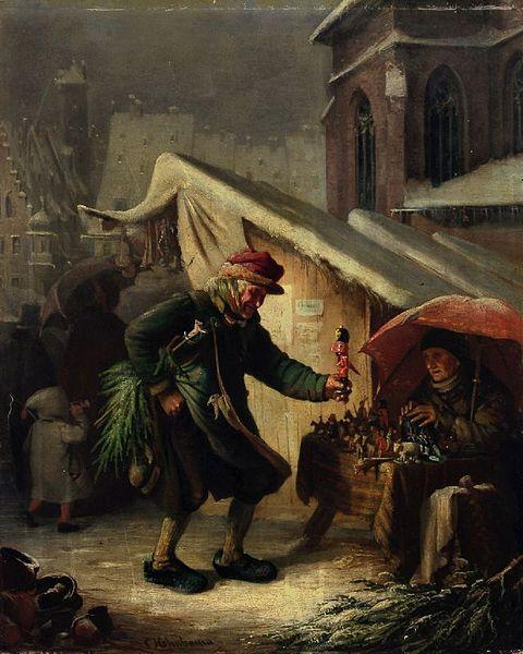 Franz_Carl_Hohnbaum_Weihnachtsmarkt © Blaue Blume e.V.