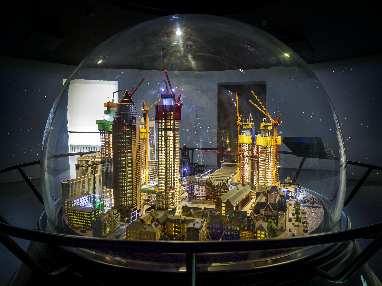 Das Foto zeigt das Modell der