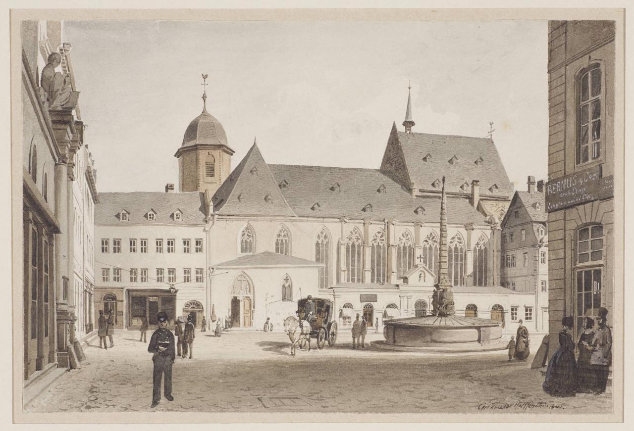 Grafik historisches museum frankfurt for Liebfrauenberg frankfurt