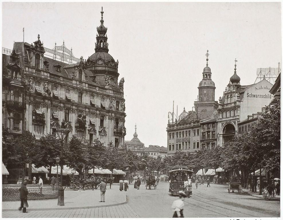 Rossmarkt um 1900 (c) HMF Horst Ziegenfusz